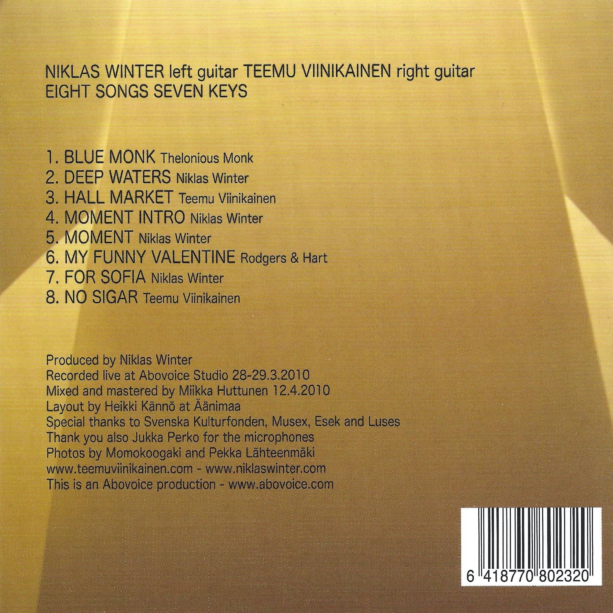 Eight Songs Seven Keys back cover (1980x1980)