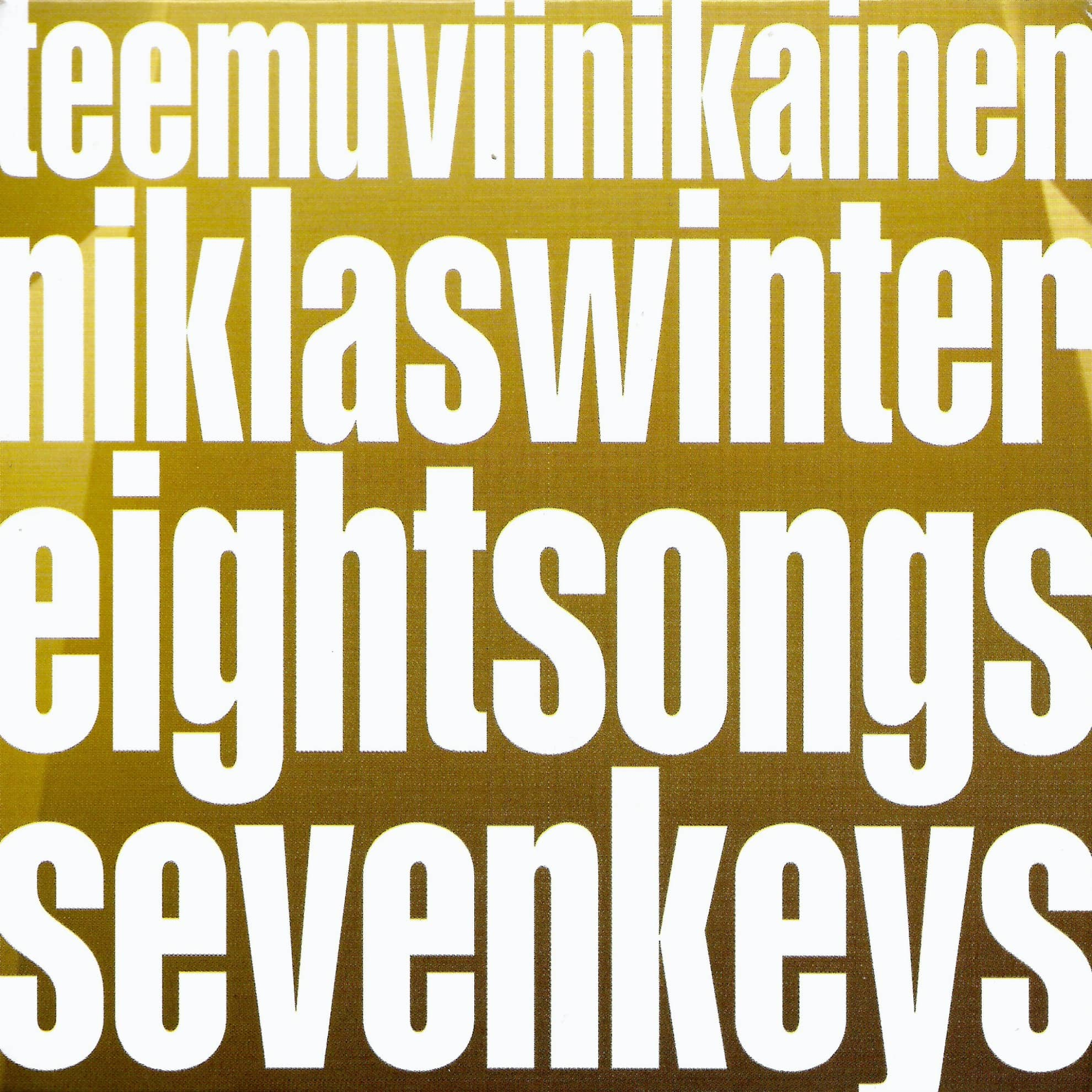 Eight Songs Seven Keys cover (1980x1980)